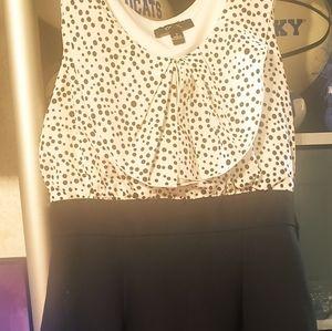 BCX Size 7 women's sleeveless blouse dress